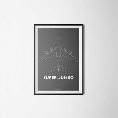 illustration of the airbus a380 also called super jumbo