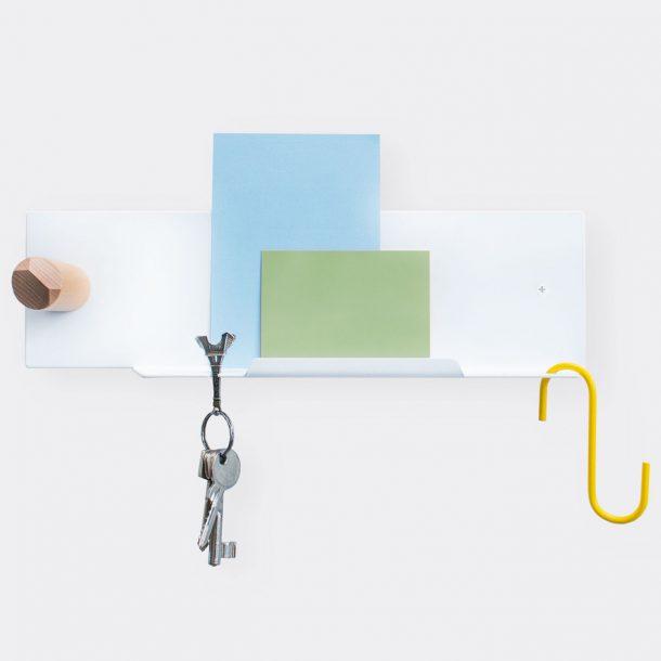 Untitled-Pocket organiser shelf small white
