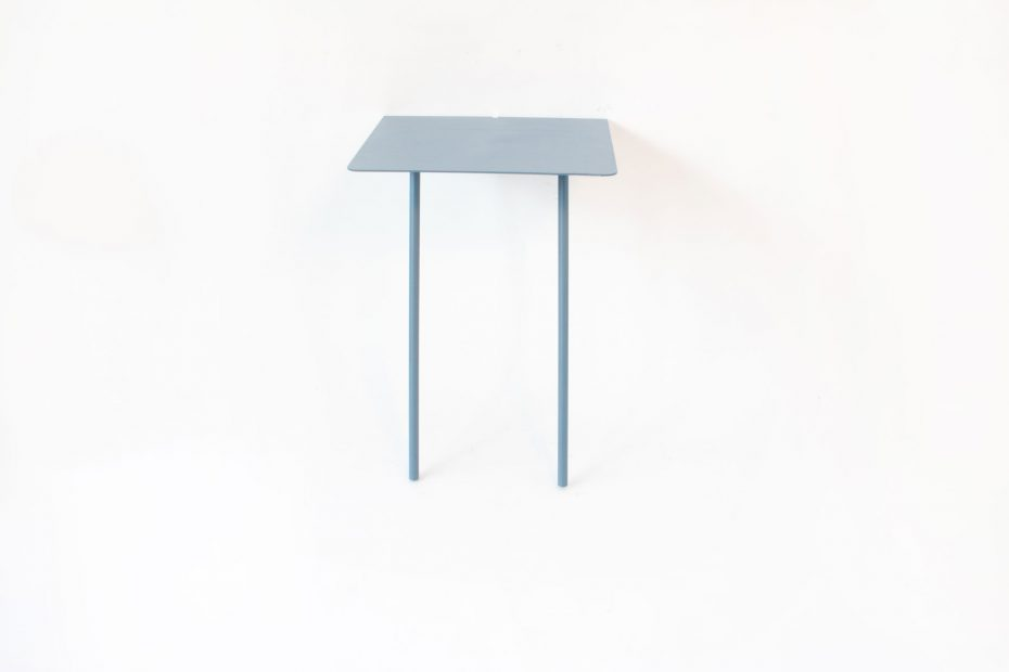 bedside Wall leaning table blue