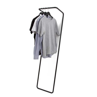 Small clothes rail black