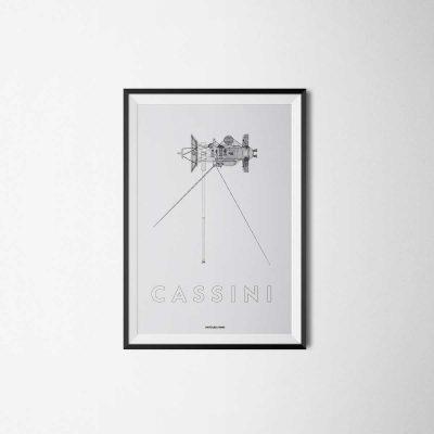 Cassini–Huygens poster