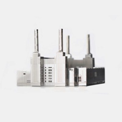 Battersea-Power-Station---Mini-Architecture-model-kit