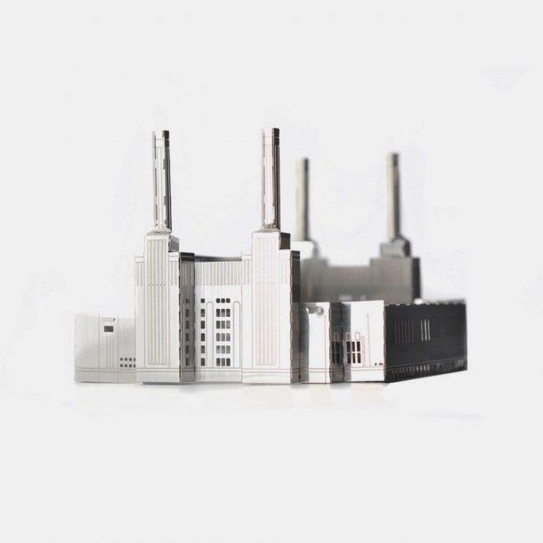 Battersea-Power-Station—Mini-Architecture-model-kit